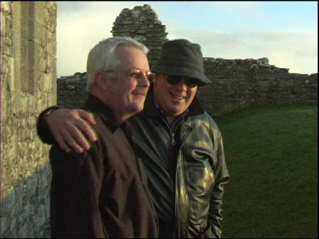 Old pals reunite in Galway in OUR IRISH COUSINS