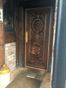 Game of Thrones doors at Fullerton Arms
