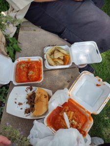 Pierogi Fest food