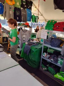 Milwaukee Irish Fest booth