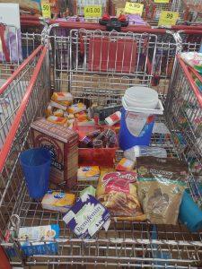 Markdown cart